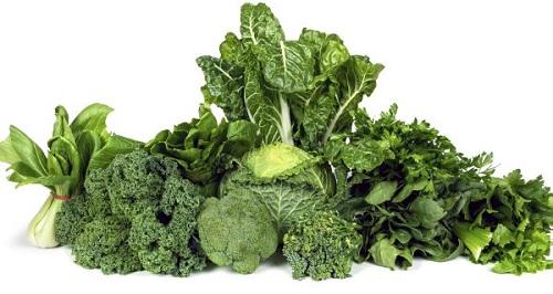 Các loại rau màu xanh đậm bổ sung collagen tốt cho cơ thể