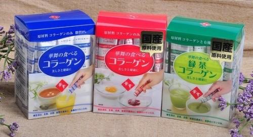 Bột Collagen hanamai pig của Nhật chiết xuất từ da heo