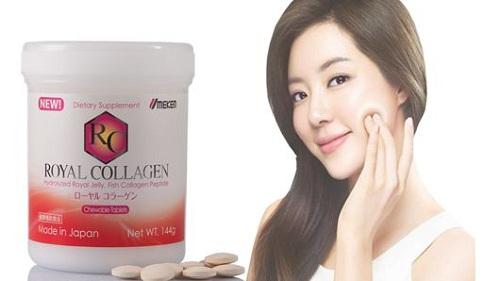 Collagen trị nám Umeken Royal Collagen Của Nhật Bản