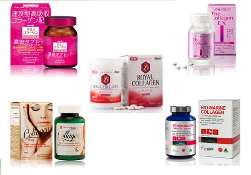 Viên uống collagen nào tốt được ưa chuộng hiện nay