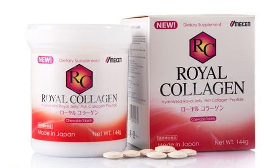 Viên uống Umeken Royal Collagen Của Nhật Bản Trị Mụn Chỗng Lão Hóa