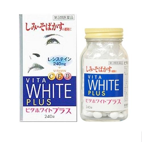 Viên uống trị nám tàn nhang Vita White Plus C.E.B2 hàng chất lượng cao