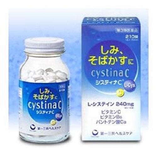 Viên uống trị nám tốt của Nhật Bản Cystina C