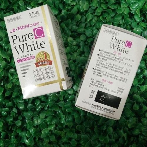 Viên uống trị nám Nhật Bản Pure White C 240
