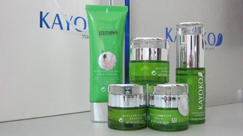 Bộ 5 sản phẩm trị nám Kayoko