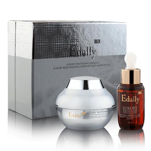 Bộ sản phẩm làm trắng da Edally Luxury Whitening Cream Set