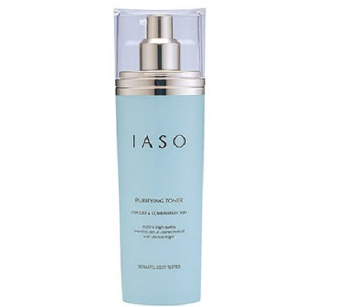 nước hoa hồng kiểm soát dầu IASO Purifying Toner