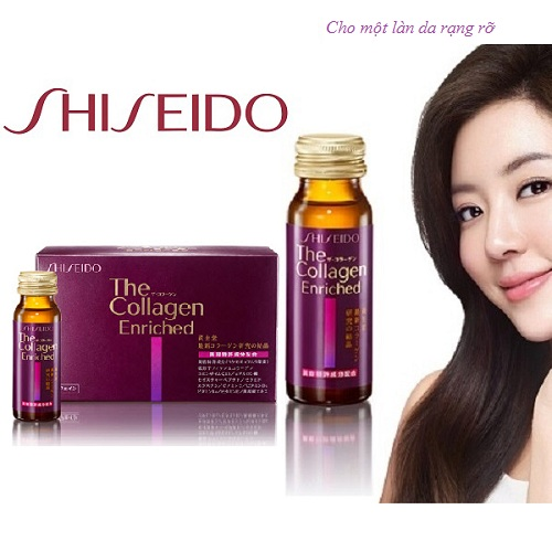 Shiseido The Collagen Enriched dạng nước