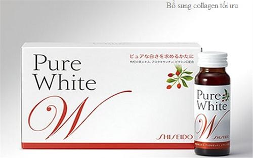 nước uống Shiseido Pure White