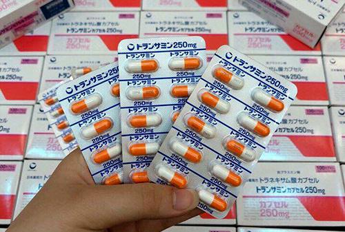 viên transamin hộp 100 viên