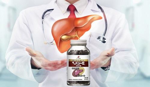 Công dụng của Viên Uống Bổ Gan Liver Hydrolysate