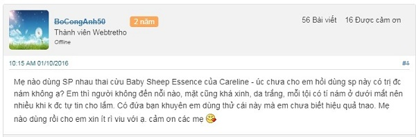 thuoc baby sheep essence