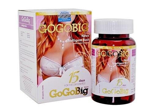 Viên Uống Nở Ngực Gogobig News