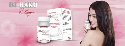 Công dụng giúp da khỏe mạnh từ bên trong của Bihaku Collagen