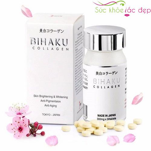 Đối tượng sử dụng bihaku collagen 30 viên nhật bản