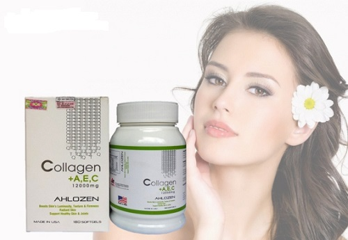 Collagen dạng viên AEC của Mỹ