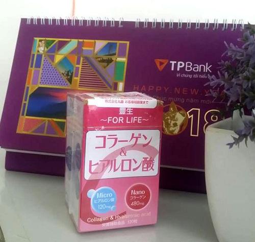 Collagen honen Nhật Bản là sự kết hợp giữa Hyaluronic acid và collagen
