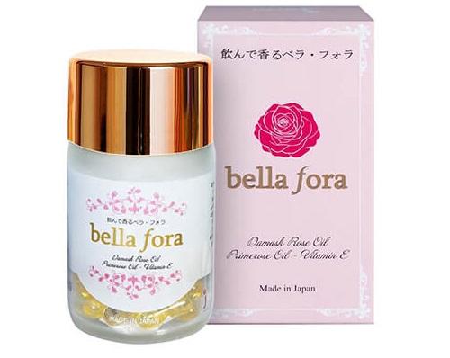Viên uống tinh chất hoa hồng Bella fora Nhật Bản