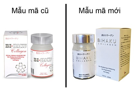 viên uống Bihaku Collagen Japan