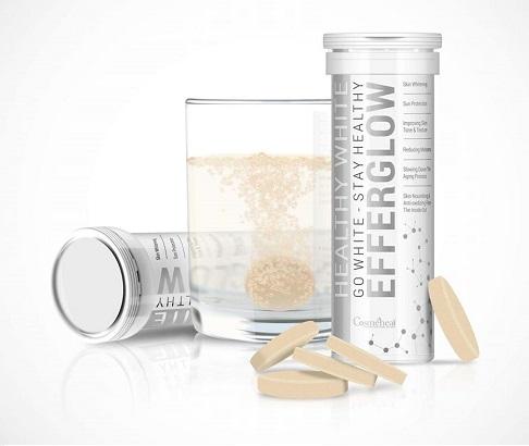 Viên uống trắng da Cosmeheal Healthy White Efferglow Hàn Quốc