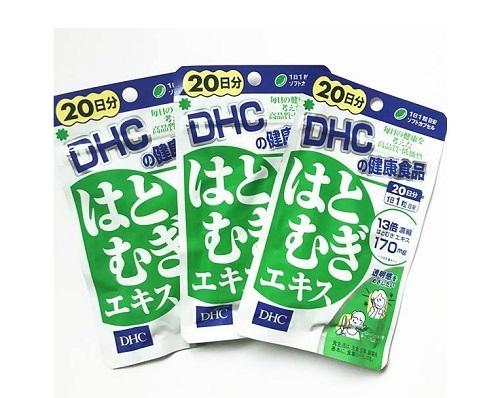Viên Uống Trắng Da DHC Coix Extract 20 Ngày