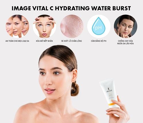 công dụng của image vital c hydrating water burst