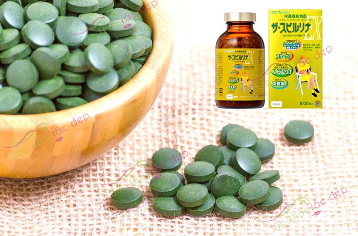 Tảo vàng Spirulina quà tặng vô giá từ thiên nhiên