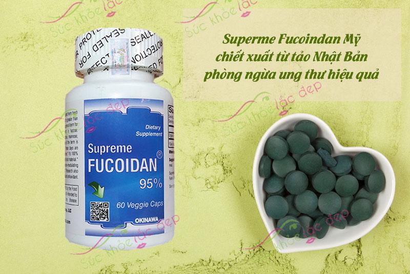 Supreme Fucoidan được chiết xuất trực tiếp từ tảo Mozuku ở đảo Okinawa