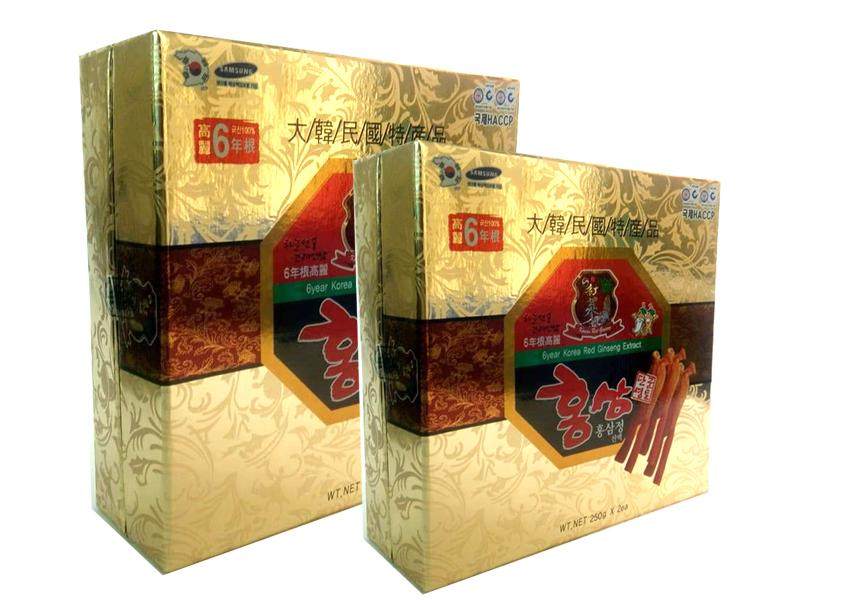 Tác dụng của cao đặc Hồng Sâm Hàn Quốc 250g x 2lọ