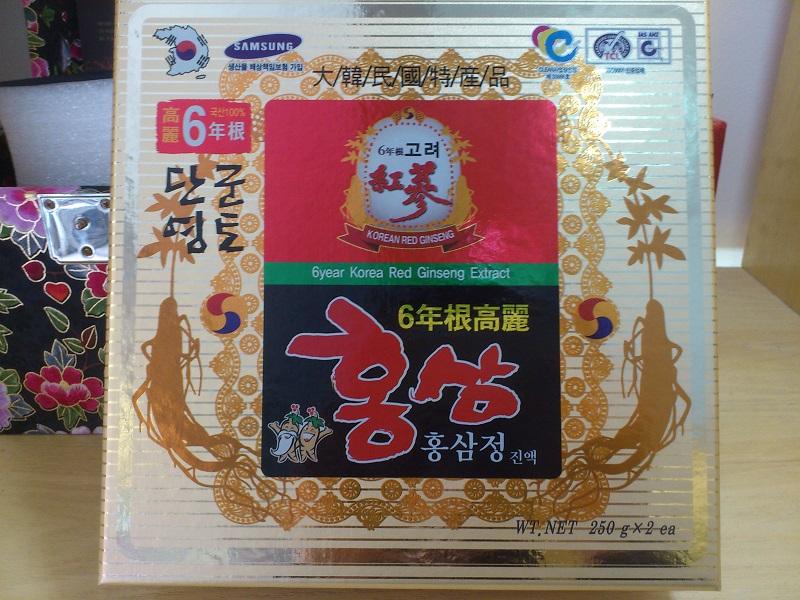 Cao hồng sâm 6 năm tuổi Kanghwa nâng cao thể lực hiệu quả