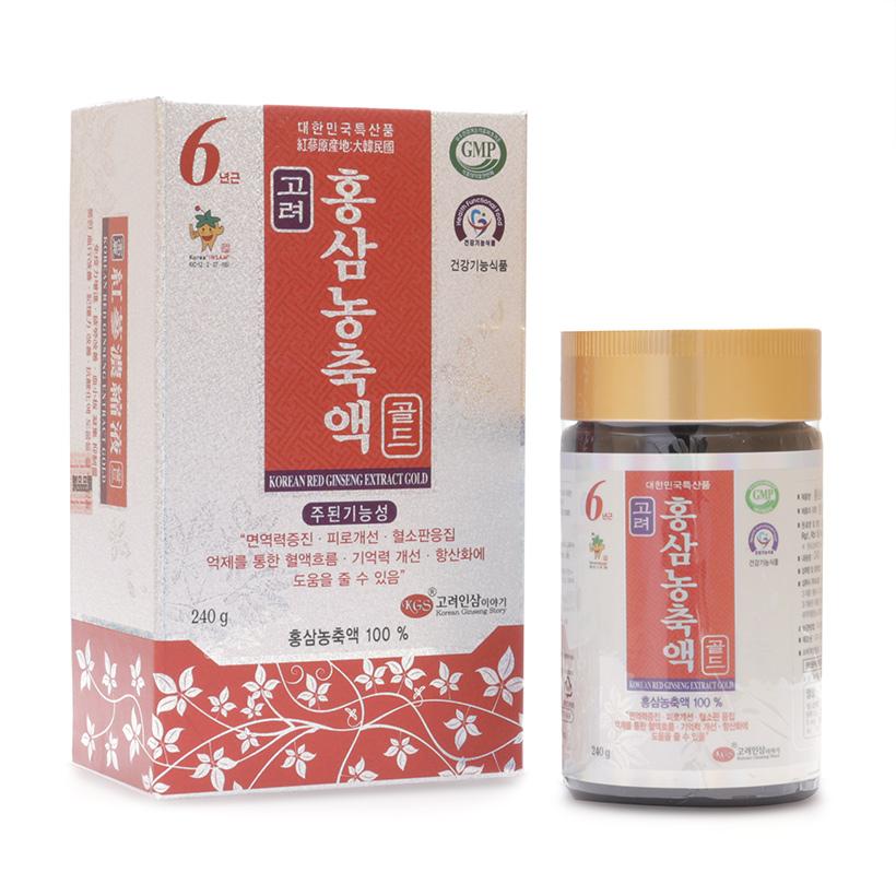 Cao hồng sâm ánh bạc KGS 240g Hàn Quốc cho bạn khỏe mạnh