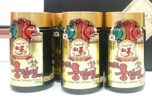 Cao hồng sâm Bio gold 250g x 4 lọ