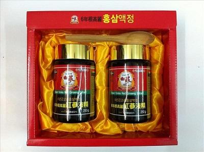 Cao hồng sâm Hàn Quốc hộp 2 lọ cho bạn cơ thể khỏe khoắn