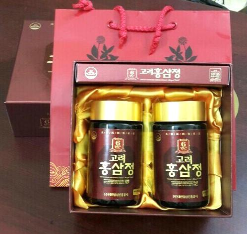 Cao hồng sâm Kanghwha 6 năm tuổi 250g sang trọng làm quà