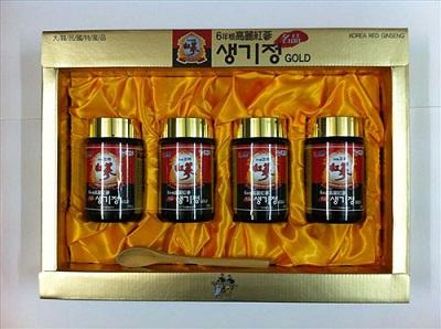 Cao sâm Hàn Quốc hộp 4 lọ chất lượng cho cơ thể khỏe mạnh