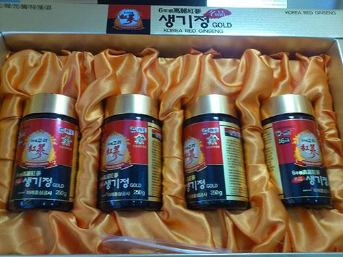 Cao sâm Hàn Quốc hộp 4 lọ