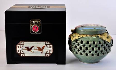 Cao Sâm Hoàng Đế Hàn quốc Hộp gỗ 1kg làm quà tặng giá trị