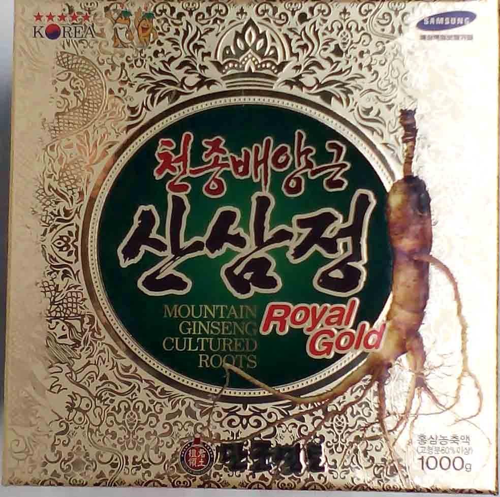 Cao sâm núi Hàn Quốc Kanghwa 1kg