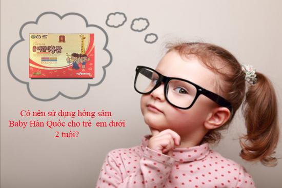 Hồng sâm baby thượng hạng dùng như nào?