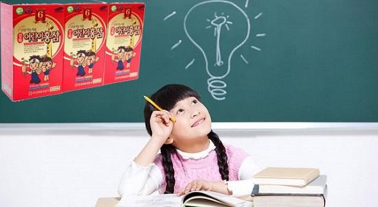Hồng sâm baby thượng hạng giúp trẻ thông minh
