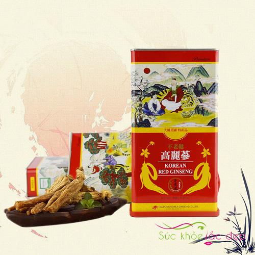 Hồng sâm củ khô Daedong 150g