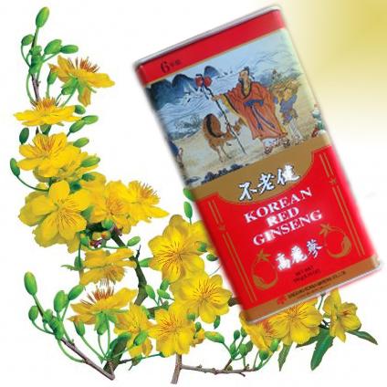 Hồng sâm củ khô Daedong Hàn Quốc hộp 150gr