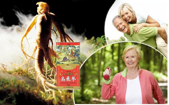 Hồng sâm củ khô daedong tăng cường sức khỏe