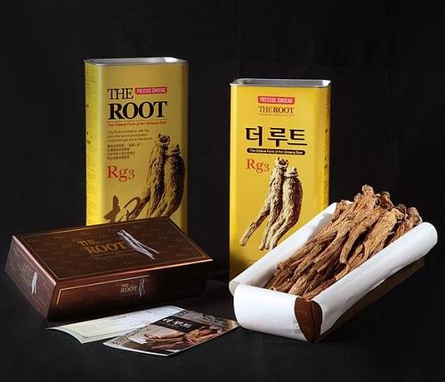 Hồng sâm củ khô Vitamin Ginseng 300g Hàn Quốc