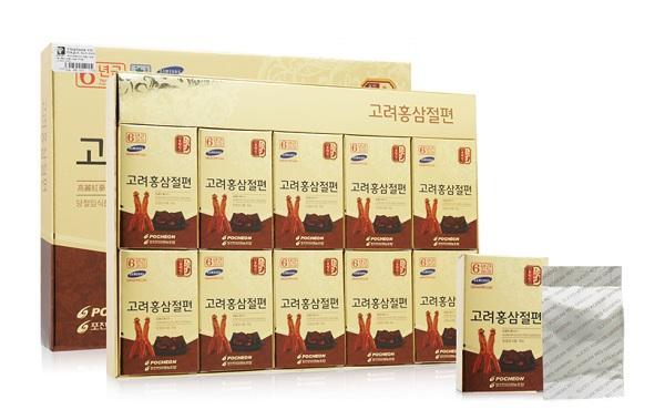 Hồng sâm Hàn Quốc lát tẩm mật ong Pocheon