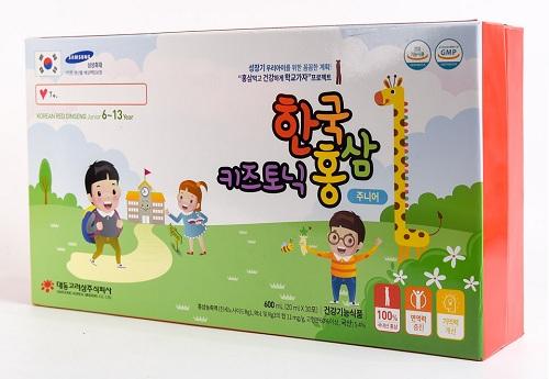 Hồng Sâm Trẻ Em 6-13 Tuổi Korean Red Ginseng Junior 6-13 Year Hàn Quốc