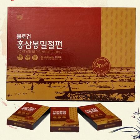 Hồng Sâm Lát Tẩm Mật Ong Daedong 200gr Hàn Quốc