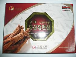 Hồng sâm lát tẩm mật ong Hàn Quốc Meritz chất lượng hàng đầu