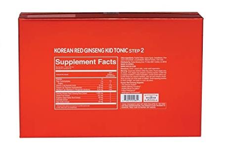Hồng sâm trẻ em KGC Kid Tonic Step 2 (5 đến 7 tuổi)