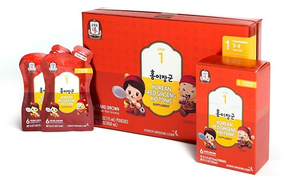 Hồng sâm trẻ em KGC Kid Tonic Step 1 (3 đến 4 tuổi)